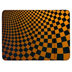 Abstract Square Checkers  Samsung Galaxy Tab 7  P1000 Flip Case