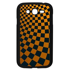 Abstract Square Checkers  Samsung Galaxy Grand Duos I9082 Case (black)
