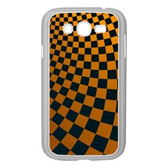Abstract Square Checkers  Samsung Galaxy Grand Duos I9082 Case (white)