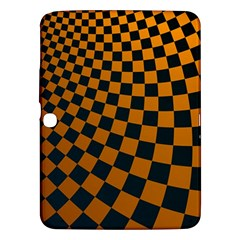 Abstract Square Checkers  Samsung Galaxy Tab 3 (10.1 ) P5200 Hardshell Case