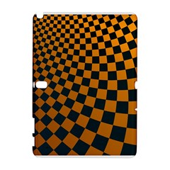 Abstract Square Checkers  Samsung Galaxy Note 10.1 (P600) Hardshell Case