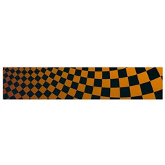Abstract Square Checkers  Flano Scarf (Small)