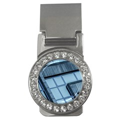 Abstract View Of Modern Buildings Money Clips (CZ)