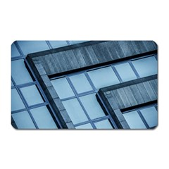 Abstract View Of Modern Buildings Magnet (rectangular)