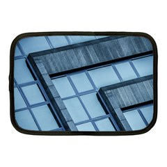 Abstract View Of Modern Buildings Netbook Case (medium)