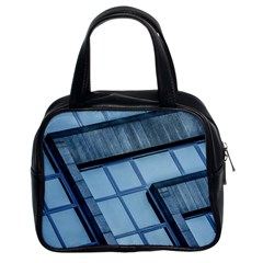 Abstract View Of Modern Buildings Classic Handbags (2 Sides)