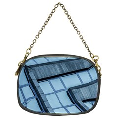 Abstract View Of Modern Buildings Chain Purses (One Side)