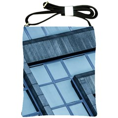 Abstract View Of Modern Buildings Shoulder Sling Bags