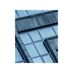 Abstract View Of Modern Buildings Shower Curtain 48  x 72  (Small)