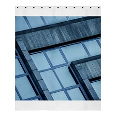 Abstract View Of Modern Buildings Shower Curtain 60  X 72  (medium)