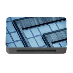 Abstract View Of Modern Buildings Memory Card Reader With Cf