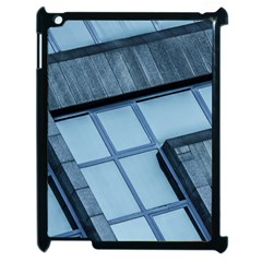 Abstract View Of Modern Buildings Apple iPad 2 Case (Black)