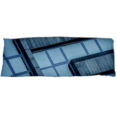 Abstract View Of Modern Buildings Body Pillow Cases (Dakimakura)