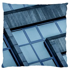 Abstract View Of Modern Buildings Large Cushion Cases (One Side)