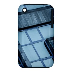 Abstract View Of Modern Buildings Apple iPhone 3G/3GS Hardshell Case (PC+Silicone)