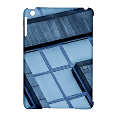 Abstract View Of Modern Buildings Apple iPad Mini Hardshell Case (Compatible with Smart Cover)