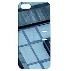 Abstract View Of Modern Buildings Apple iPhone 5 Hardshell Case with Stand