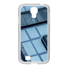Abstract View Of Modern Buildings Samsung Galaxy S4 I9500/ I9505 Case (white)