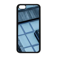 Abstract View Of Modern Buildings Apple iPhone 5C Seamless Case (Black)