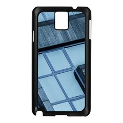 Abstract View Of Modern Buildings Samsung Galaxy Note 3 N9005 Case (Black)