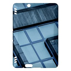 Abstract View Of Modern Buildings Kindle Fire Hdx Hardshell Case