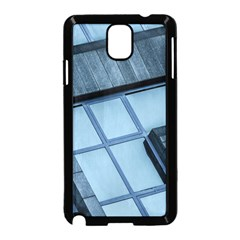Abstract View Of Modern Buildings Samsung Galaxy Note 3 Neo Hardshell Case (Black)