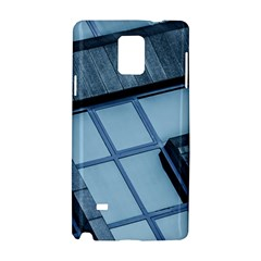 Abstract View Of Modern Buildings Samsung Galaxy Note 4 Hardshell Case