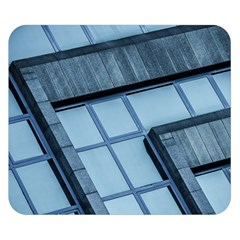 Abstract View Of Modern Buildings Double Sided Flano Blanket (small)
