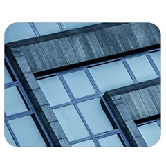Abstract View Of Modern Buildings Double Sided Flano Blanket (medium)