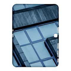 Abstract View Of Modern Buildings Samsung Galaxy Tab 4 (10.1 ) Hardshell Case