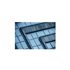 Abstract View Of Modern Buildings Satin Wrap