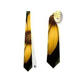 Beautiful Colourful African Daisies  Neckties (One Side)