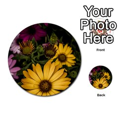 Beautiful Colourful African Daisies  Multi-purpose Cards (Round)