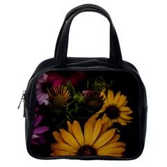 Beautiful Colourful African Daisies  Classic Handbags (One Side)