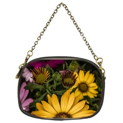 Beautiful Colourful African Daisies  Chain Purses (Two Sides)