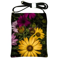 Beautiful Colourful African Daisies  Shoulder Sling Bags