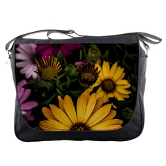 Beautiful Colourful African Daisies  Messenger Bags