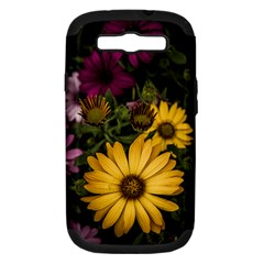 Beautiful Colourful African Daisies  Samsung Galaxy S III Hardshell Case (PC+Silicone)