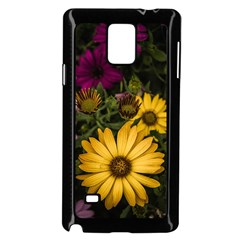 Beautiful Colourful African Daisies  Samsung Galaxy Note 4 Case (Black)