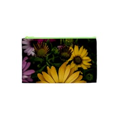 Beautiful Colourful African Daisies  Cosmetic Bag (xs)