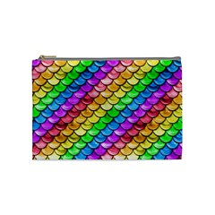 Rainbow Scales Cosmetic Bag (Medium)