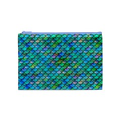 Mermaid Scales Cosmetic Bag (medium)