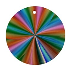 Abstract Rainbow Ornament (Round)