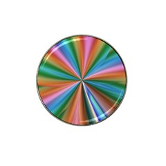 Abstract Rainbow Hat Clip Ball Marker (4 pack)