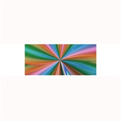 Abstract Rainbow Large Bar Mats