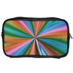 Abstract Rainbow Toiletries Bags 2-Side