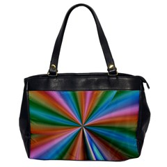 Abstract Rainbow Office Handbags