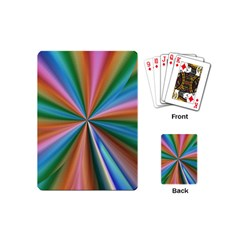 Abstract Rainbow Playing Cards (Mini)