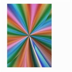 Abstract Rainbow Large Garden Flag (two Sides)