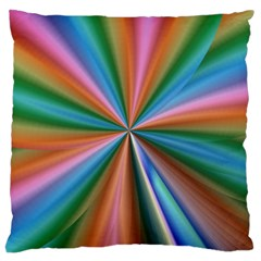 Abstract Rainbow Large Cushion Cases (One Side)